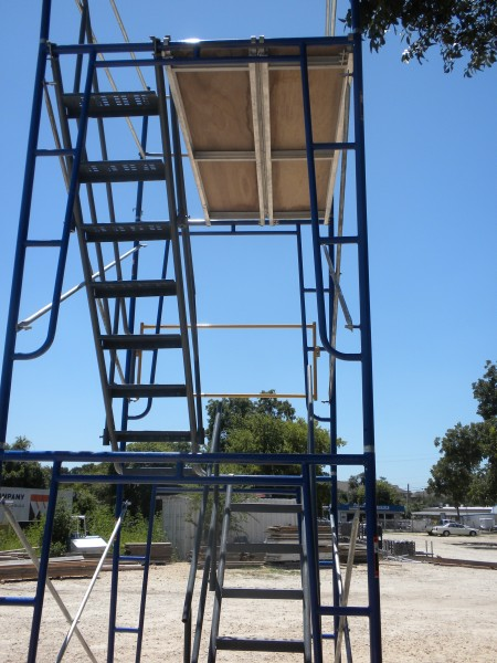 Tower Scaffold Stair Tower Stairway : Frame bilt rite scaffold scaffolding austin tx