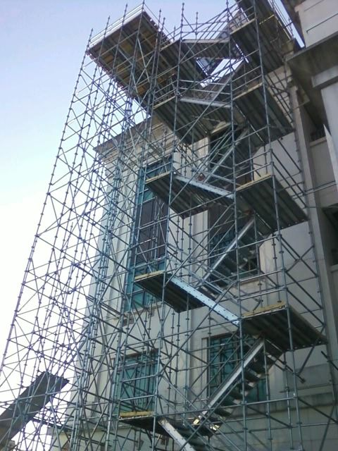 Attractive Stair Towers Can Be Utilized In Conjuction With Existing Scaffold Platforms.